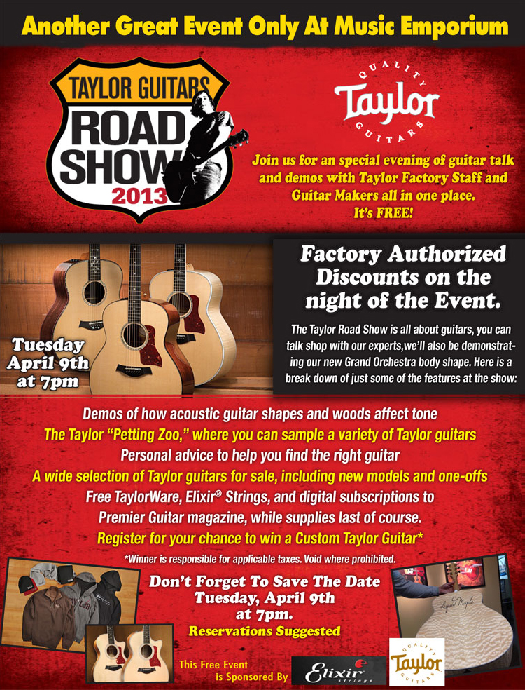 taylor-road-show