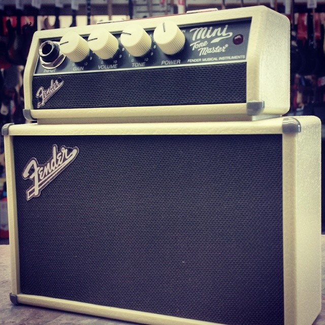 Look at this monster of #tone that we just got in. At just $39, it brings most $5k rigs to their knees! #fender #guitar #amp #electricguitar #tonefordays #geartalk #gearwire #gear #music